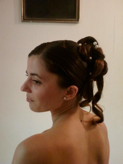 chignon et coiffure mariée et enfant - aurelia-coiffure-49.fr